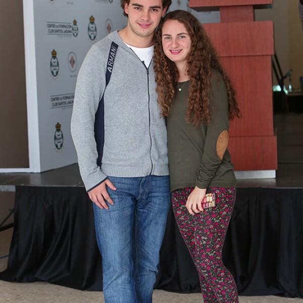 Luis Martín y Daniela Pérez