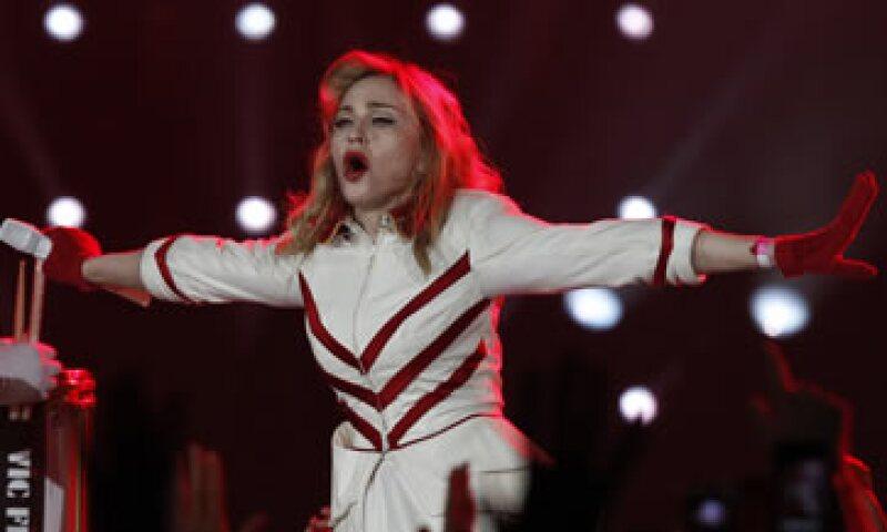 La leyenda del pop ofreció 88 conciertos el año pasado. (Foto: AP)