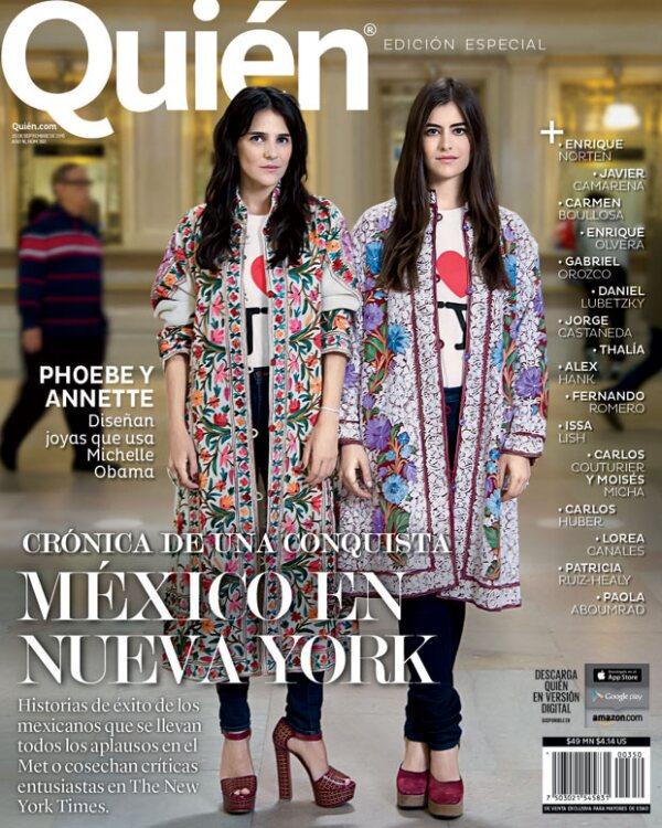 Nuestra última edición de la revista con los mexicanos que destacan en Nueva York.