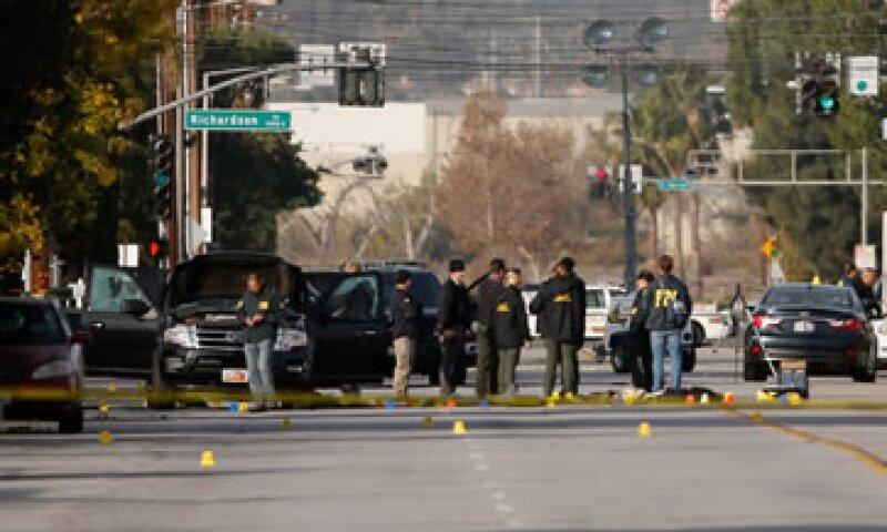 Las autoridades persiguieron a los atacantes e intercambiaron disparos. (Foto: AFP)