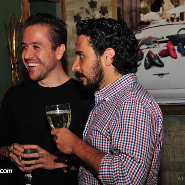 Álvaro Valadéz y Jorge González