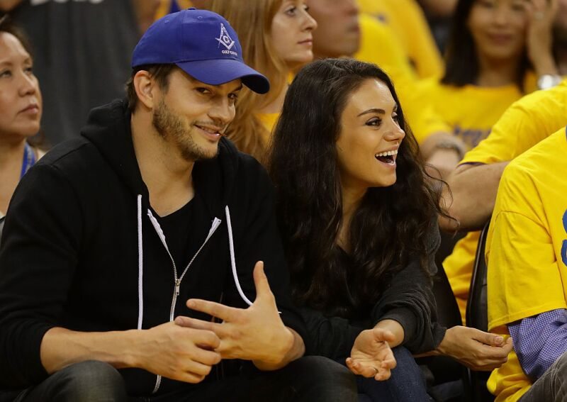 Ashton Kutcher y Mila Kunis date