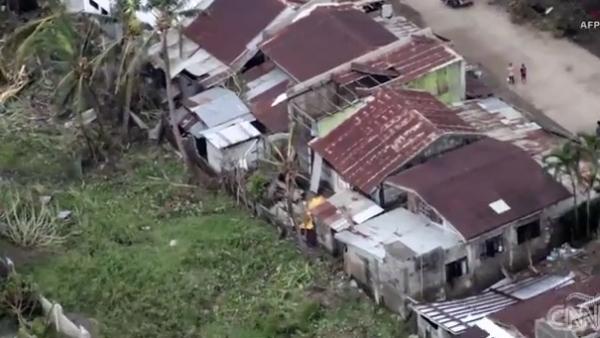 El supertifón Mangkhut deja un rastro de destrucción en Filipinas y China