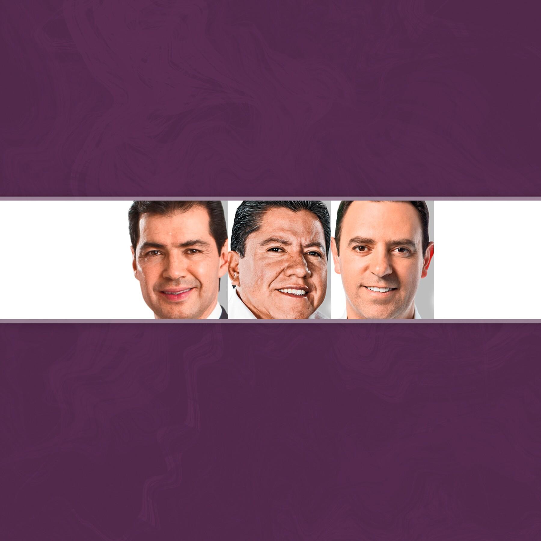 Rafael Flores, David Monreal y Alejandro Tello.