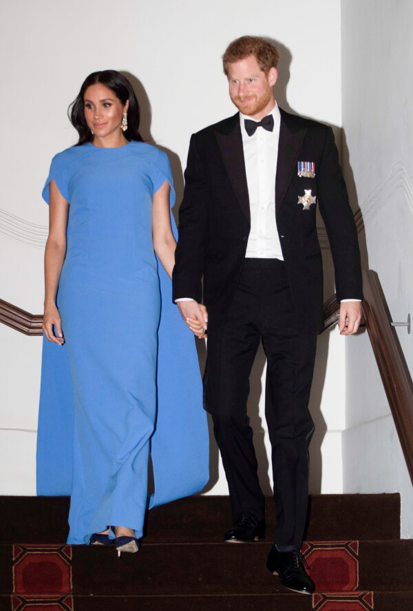 Meghan y Harry cena de Estado Fiji 2018