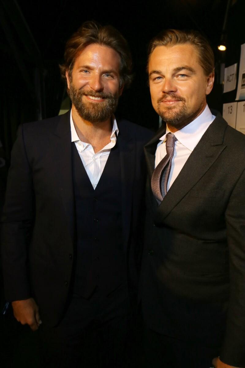 También estuvo presente Bradley Cooper.