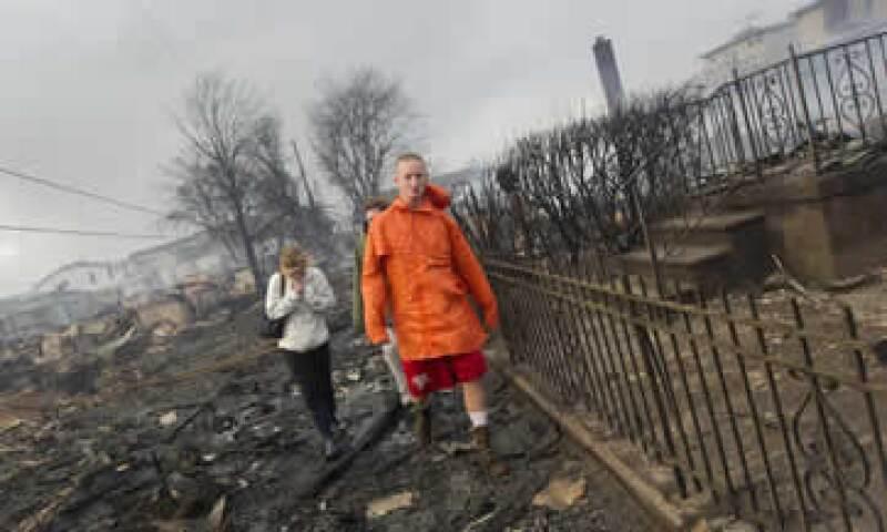 Se tardará un tiempo en determinar la cifra exacta de pérdidas debido a la magnitud del desastre, dijeron el martes firmas expertas. (Foto: Reuters)