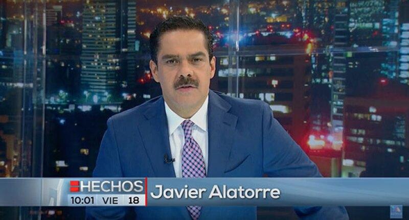 El conductor de TV Azteca utilizó su propio noticiero nocturno para denunciar a la banda de criminales que robaron su casa una noche anterior y que se hacen pasar por policía federal.