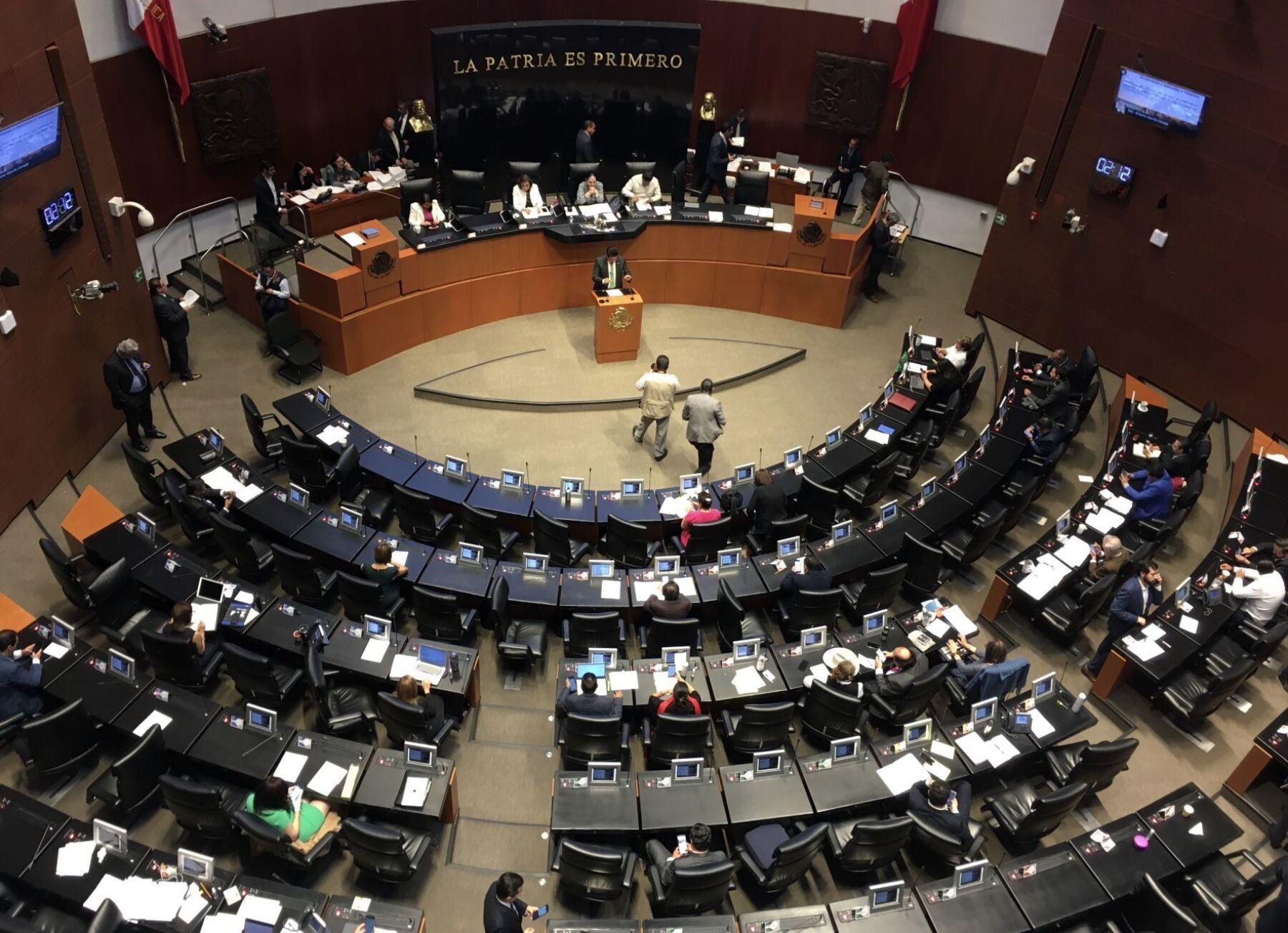 Con una asistencia de 90 senadores se lleva a cabo sesión ordinaria en la Cámara