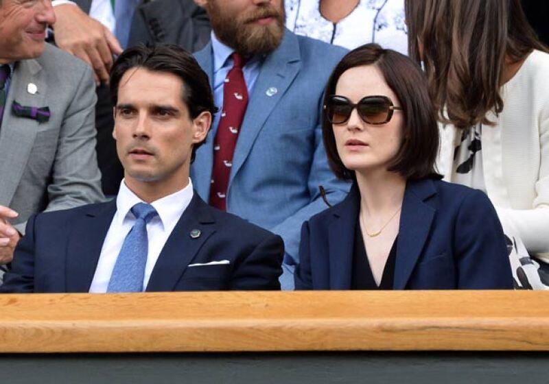 John falleció un día después del cumpleaños de su prometida, Michelle, y un día antes de su cumpleaños. Aquí en el campeonato de Wimbledon de este año.