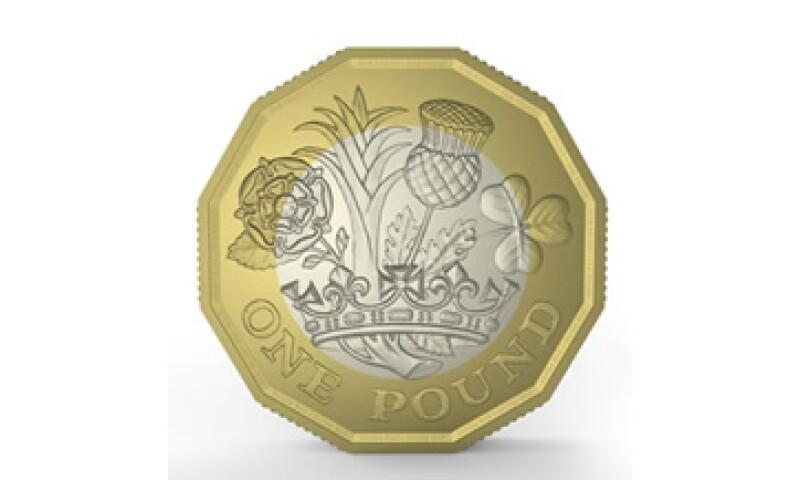 El diseño incluye una corona y las cuatro plantas representativas de las naciones del Reino Unido. (Foto: Tomada de royalmint.com)