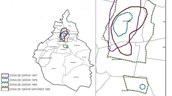 mapa riesgo sísmico