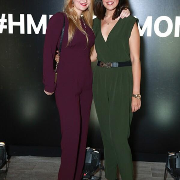 Catalina Salazar y Margaret Villarreal