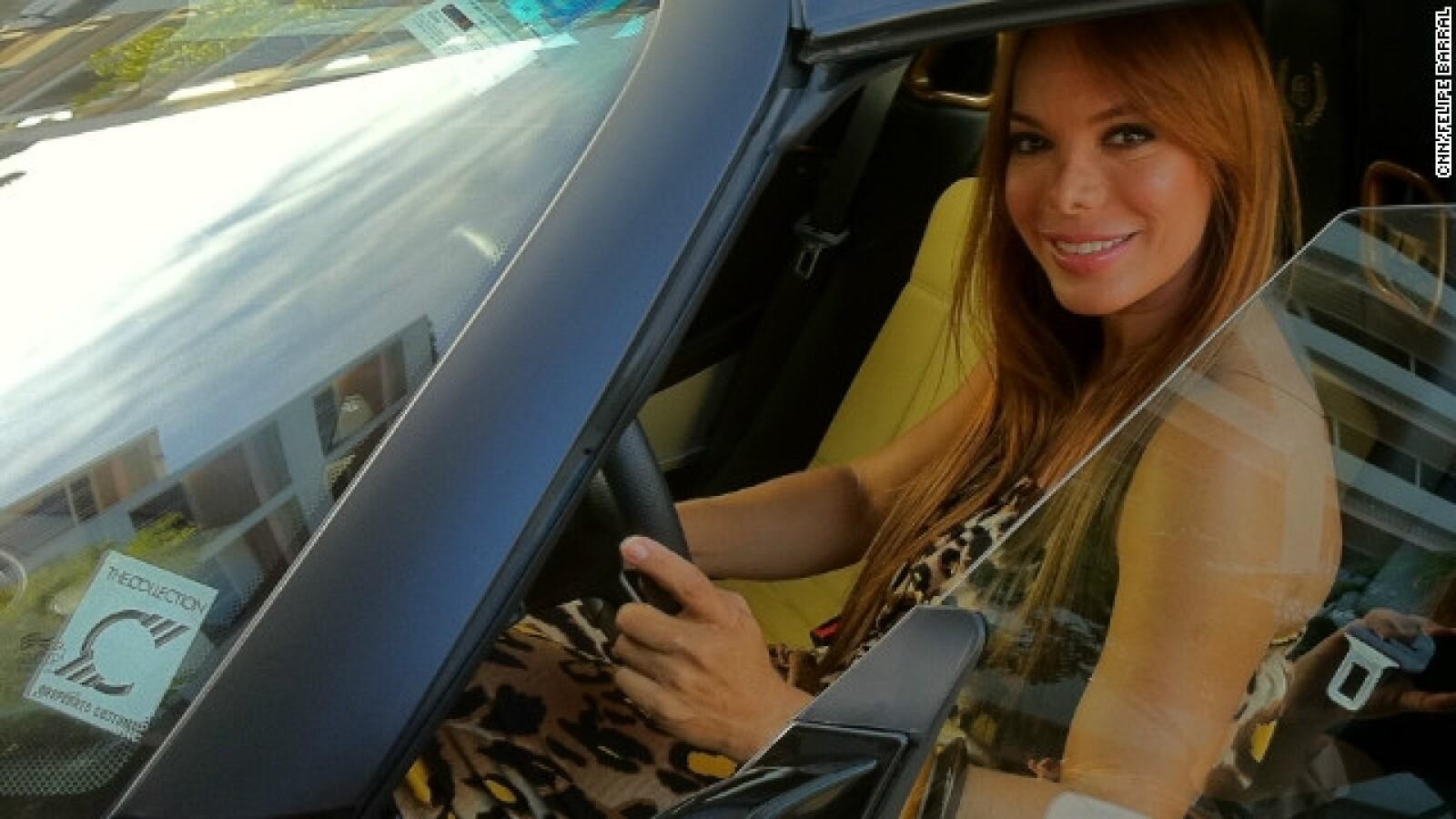 Milka Duno piloto carreras
