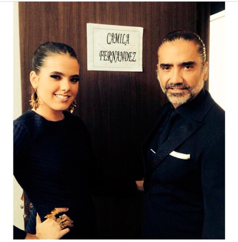 Uno de los primeros lanzamientos que realizará Infinity, será apoyar el talento de la hija de Alejandro Fernández, Camila.