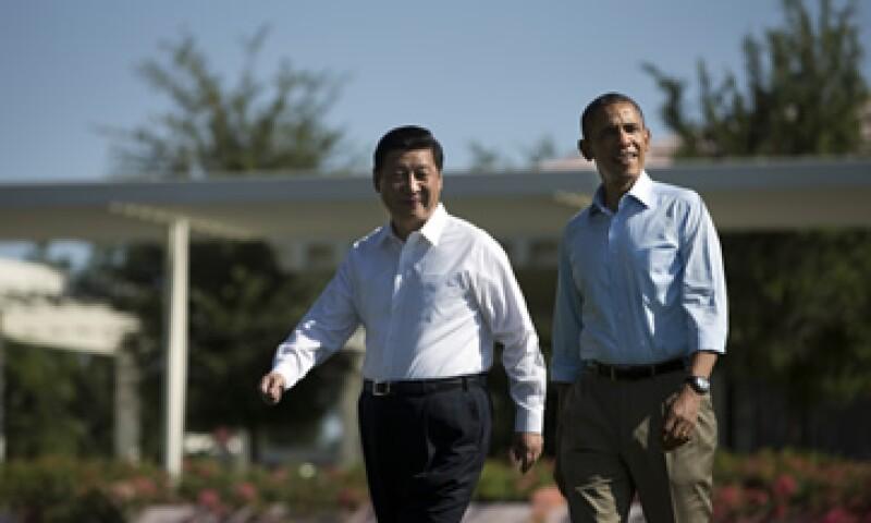 Los presidentes se reunieron durante ocho horas en el curso de dos días. (Foto: AP)