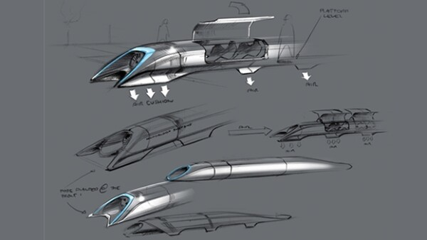 Hyperloop Elon Musk