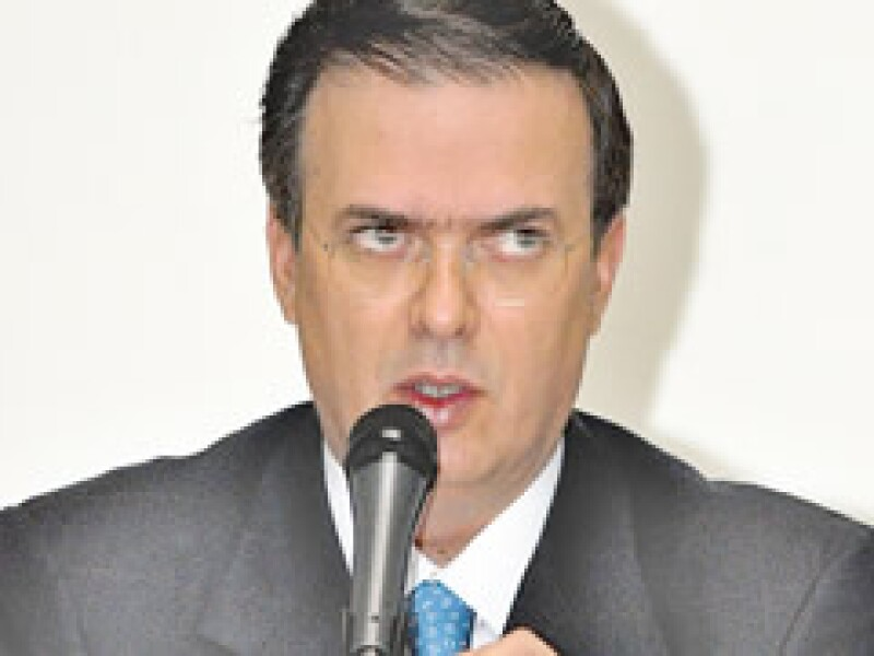 Marcelo Ebrard dijo que el número de casos de contagio en el DF tiende a estabilizarse. (Foto: Archivo NTX)