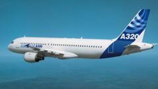 Airbus pretende vender a las aerol�neas chinas entre 80 y 90 aviones A320 a partir de 2009. (Cortes�a Airbus)