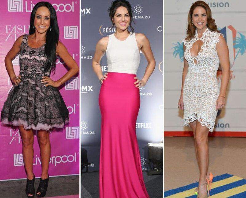 Inés Gomez Mont, Bárbara Mori y Lucero son algunos de los rostros más atractivos de las telenovelas.