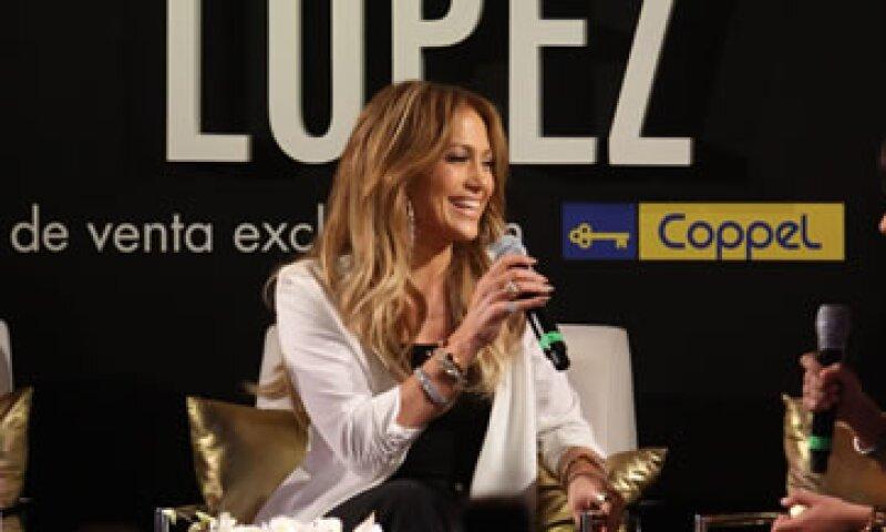 La artista eligió a México y a Coppel como el primer lugar fuera de Estados Unidos para comercializar su línea de moda. (Foto: Notimex)