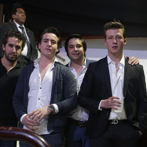José Cano,Diego Torres,Luis Preggo y Adrían Gutiérrez