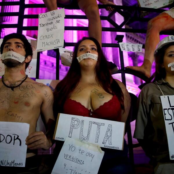 Argentina ha tenido manifestaciones en años anteriores, se ha convocado a una marcha para el 3 de junio