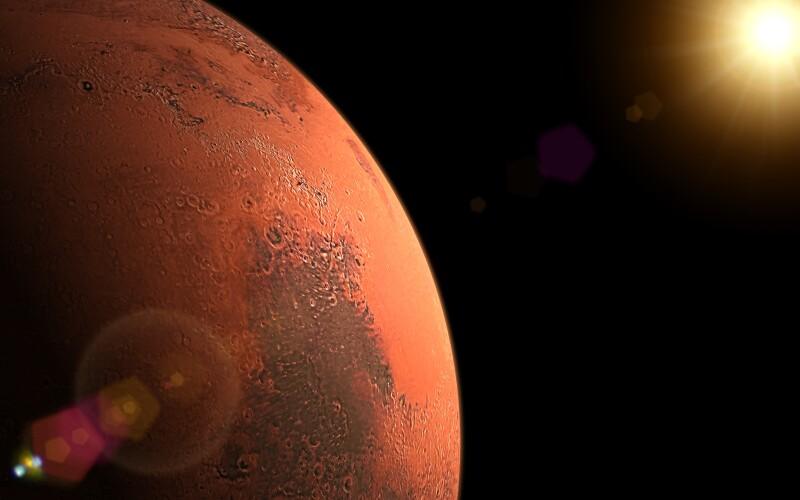 Próximo objetivo: Marte