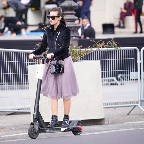 Street Style At Chanel Cruise Collection 2020 : Outside Arrivals At Grand Palais In Paris