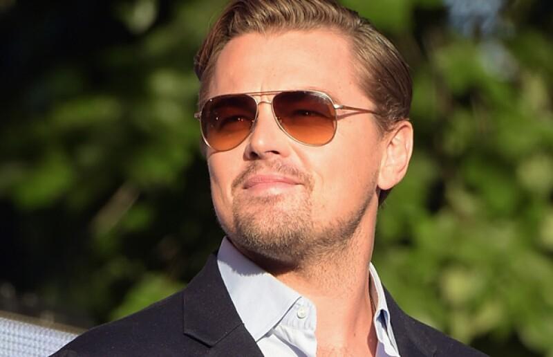 Leonardo DiCaprio se rodea de muchos famosos.