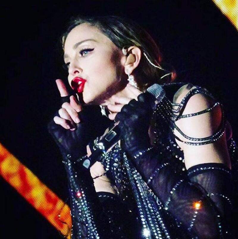 La última vez que Madonna estuvo en México fue con su MDNA Tour.