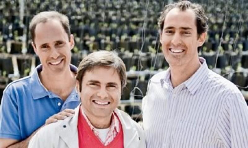 """""""La idea es ganar  con los vegetales que se tiraban"""". José Luis Correa, director general de Leonali. (Foto: Alex HO)"""