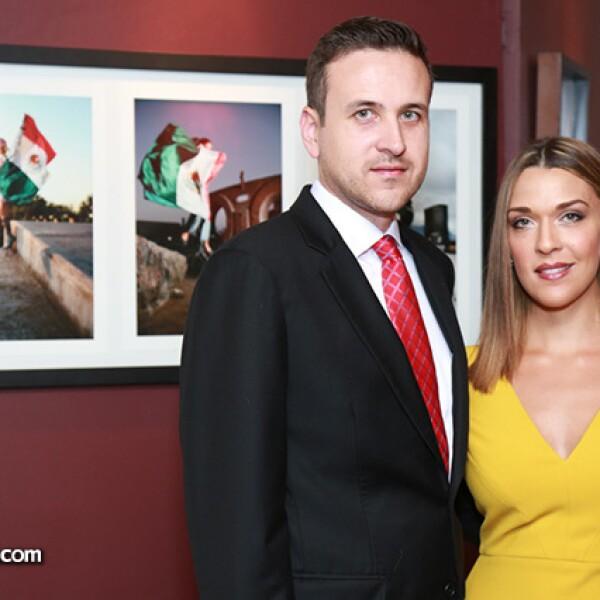 Ramiro Montemayor y Cristina Gutiérrez de Montemayor