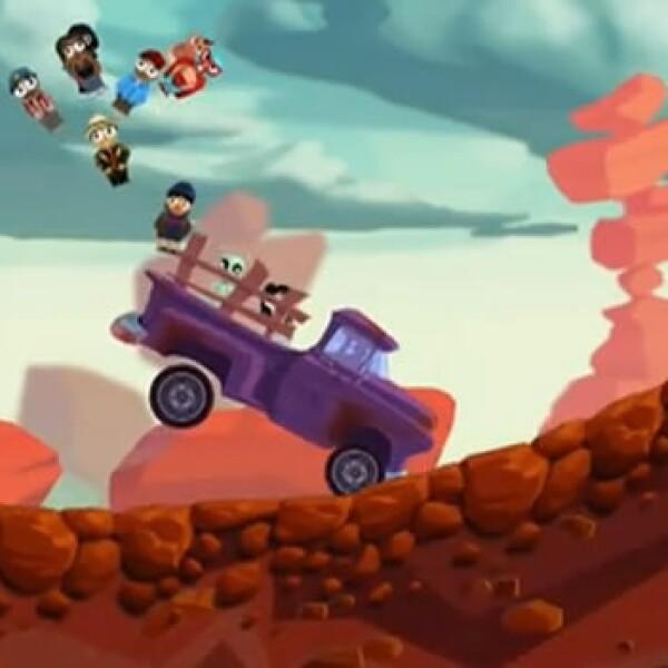 trafico desierto apple videojuego