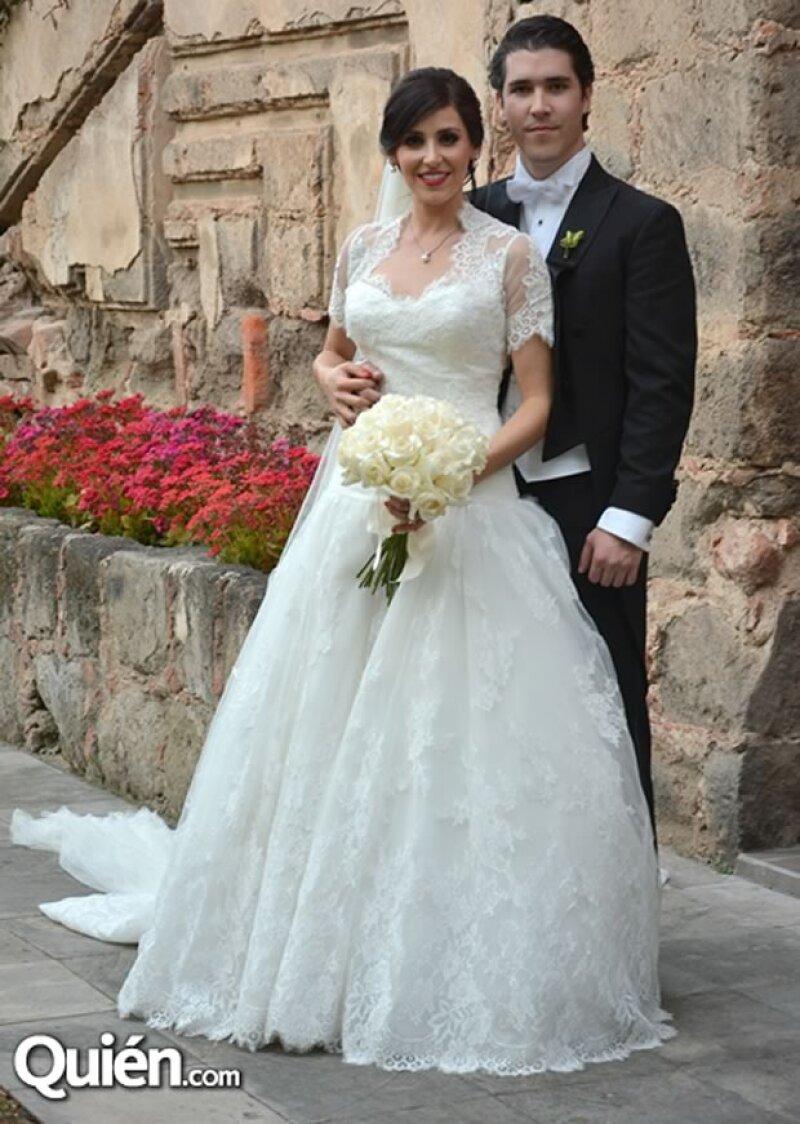 Sofía Valderram y Enrique Lázaro