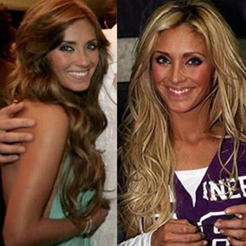 La cantante asistió a una boda en Cuernavaca, acompañada de su novio, Rodrigo Ruiz de Teresa, en donde lució una nueva imagen de cabellera castaña.