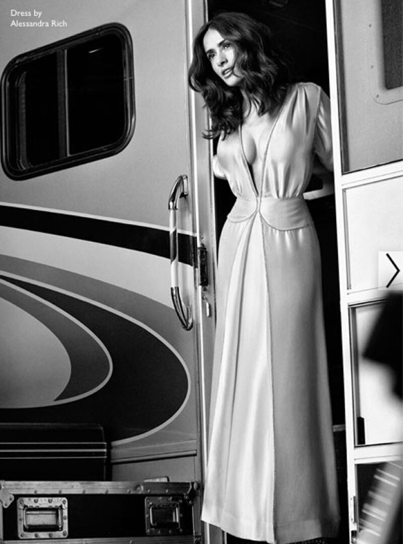 La actriz mexicana aseguró haber encontrado al hombre que buscaba en su esposo Francois-Henri Pinault.
