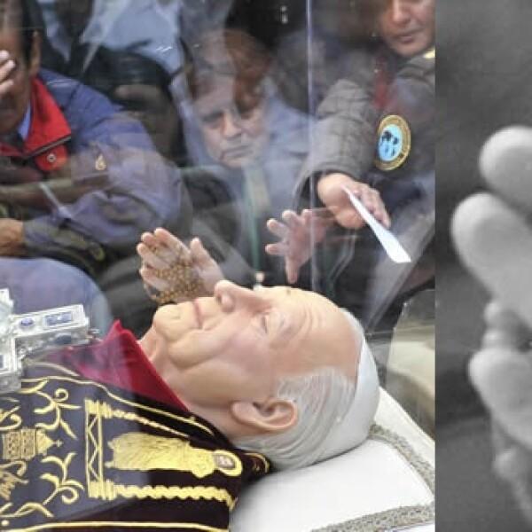 Juan Pablo II reliquias Basílica