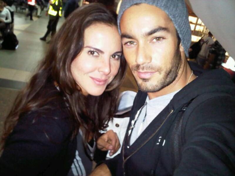 Hacían buena pareja, pero finalmente Kate y Aarón Díaz se separaron.