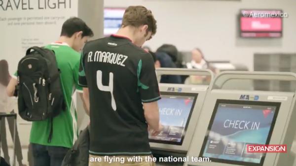 Aeroméxico y Delta están con la Selección Mexicana de Fútbol