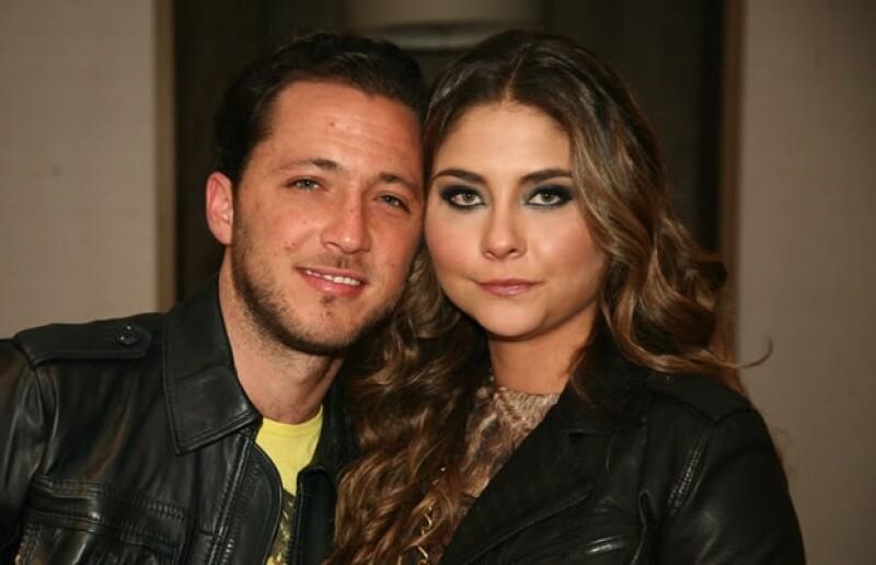 Isaac Bissu y Alexia Camil