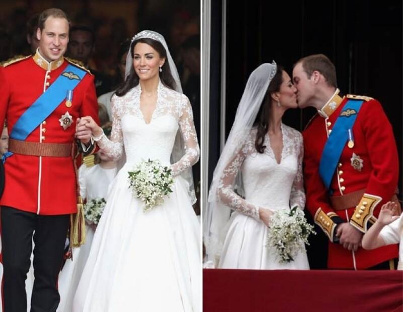 El 29 de abril de 2011 los ahora Duques de Cambridge unieron sus vidas en matrimonio.