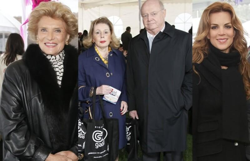Viviana Corcuera, Doris y Juan Beckmann y Sofía Aspe fueron algunos de los asistentes al evento altruista.
