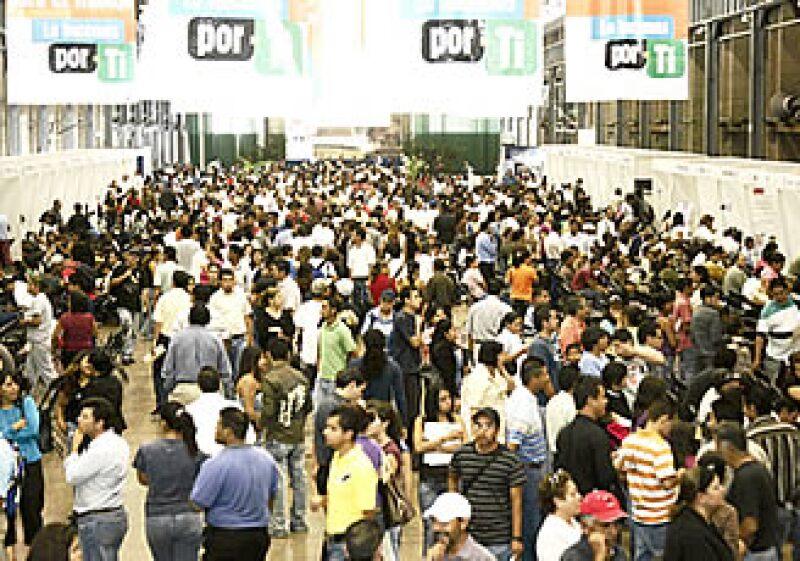El Banxico prevé que 735,000 mexicanos se queden sin trabajo tan solo este año. (Foto: Notimex)