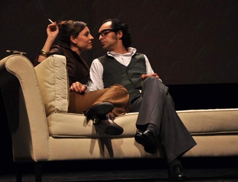 Bruno y Marina interpretan a una pareja de esposos que terminan por enredarse en sus propias traiciones.