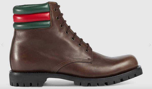 Bota Gucci color café