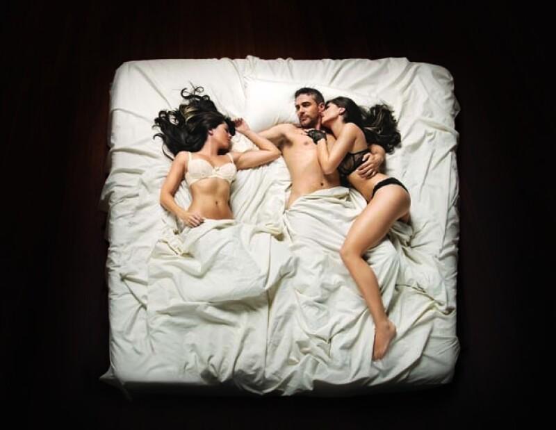 Bárbara Mori y Leonardo Sbaraglia tendrán escenas llenas de sensualidad.