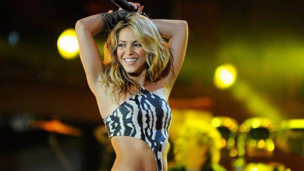 Shakira interpretó uno de los temas más populares de la Copa del Mundo.