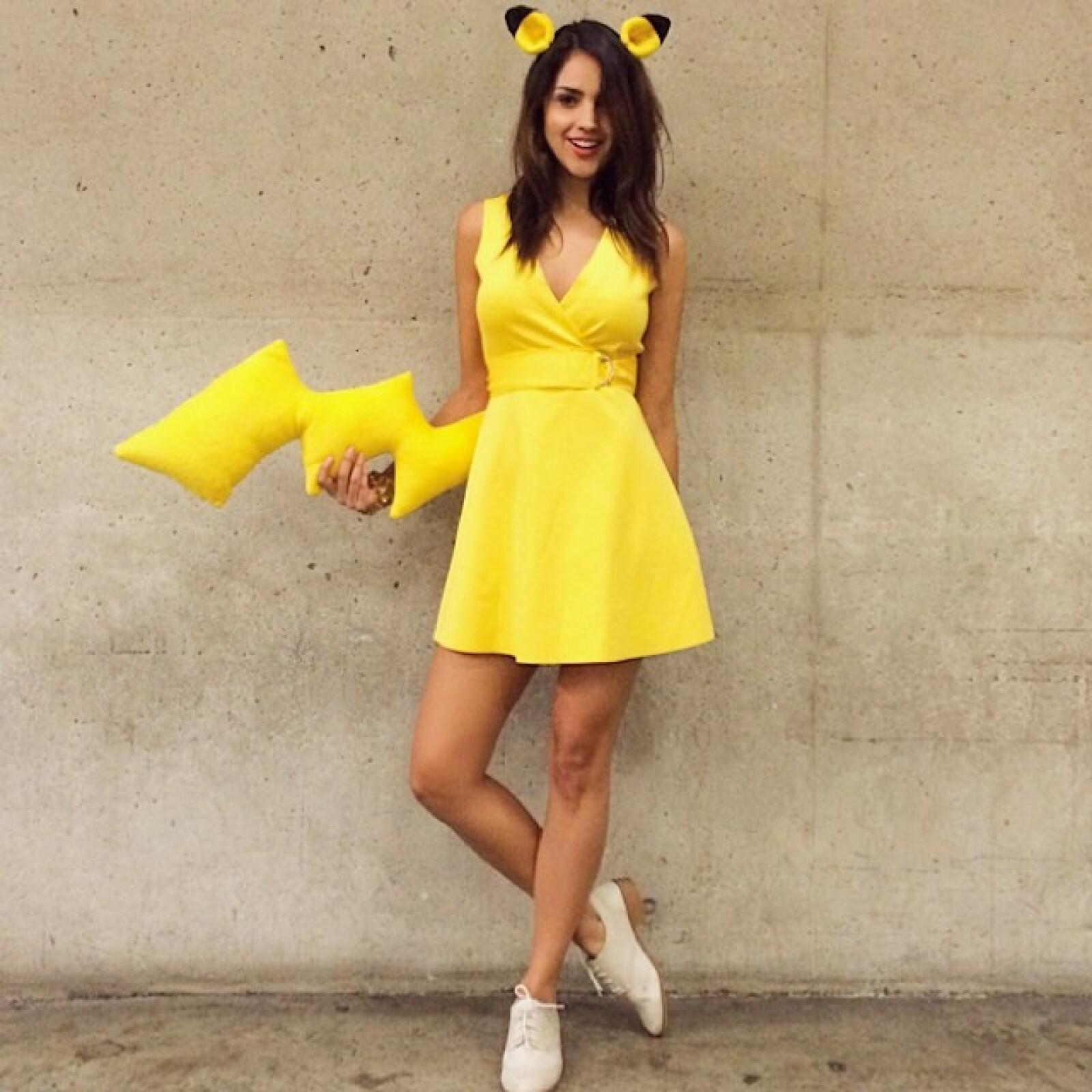 Una sexy Pikachu en la ComiCon de San Diego.