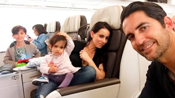 Desde hace unas semanas, la segunda hija de la conductora y actriz ya cuenta con perfil oficial en Instagram, donde apareció un post en el que da sus primeros pasos.